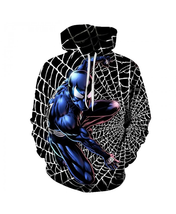 New 2021 Marvel Comics 3D Printed Iron Spiderman Sweatshirt Men/Women Tops Hoodie Men Fashion Autumn Hoodies Streetwear Clothes F