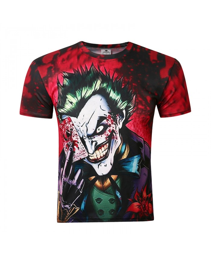 New 3D Funny Print T Shirt Men Fashion Tops Short Sleeve Summer Quick Dry Male Tees Quality Camisetas Homme