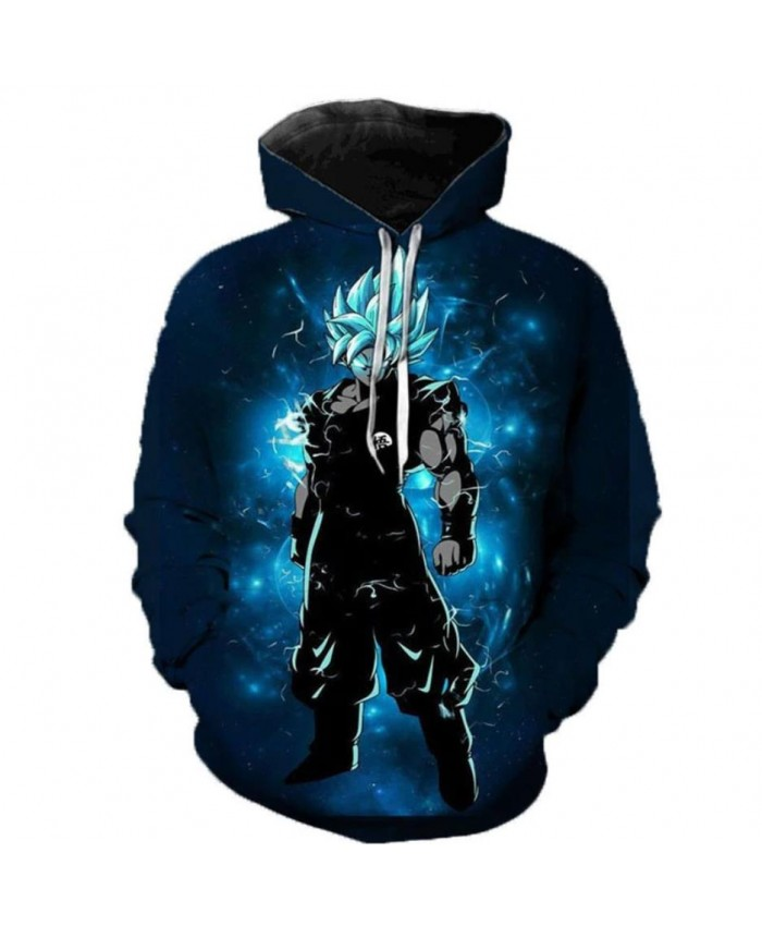New Arrival Dragon Ball Super 3D Hoodie Men/Women Spring Fashion Sweatshirt Unisex Japanese Anime Goku Print Jacket Outerwear