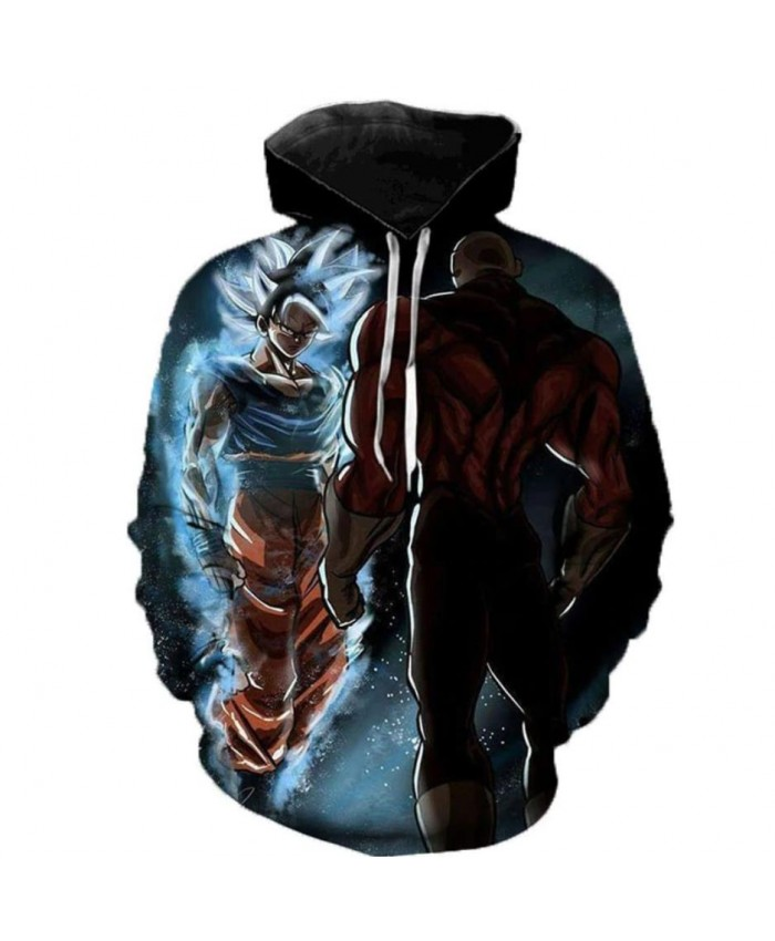 New Arrival Dragon Ball Super 3D Hoodie Men/Women Spring Fashion Sweatshirt Unisex Japanese Anime Goku Print Jacket Outerwear B