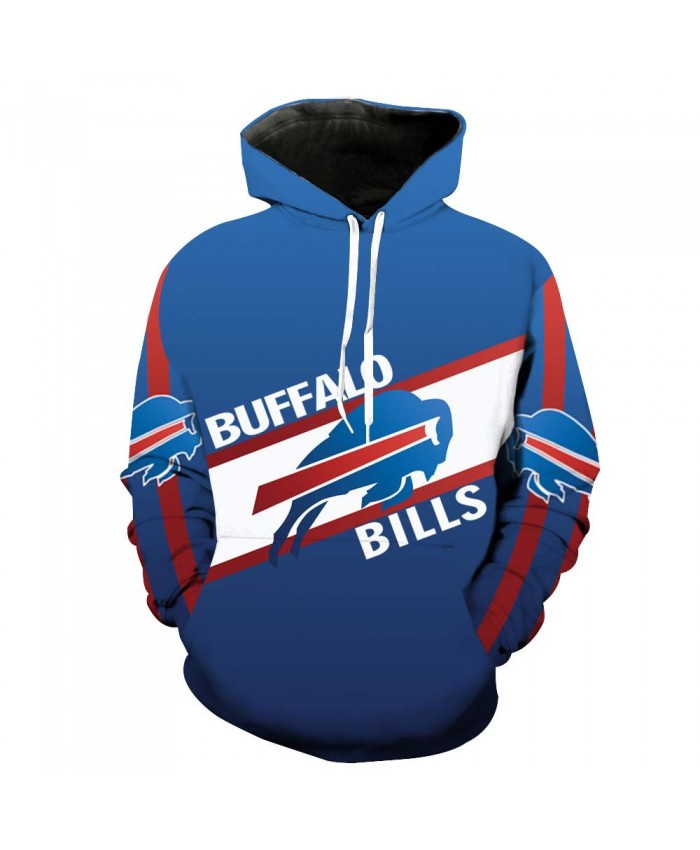 New Buffalo Bills Buffalo Bills NFL Football 3D Print Sweater hoodie