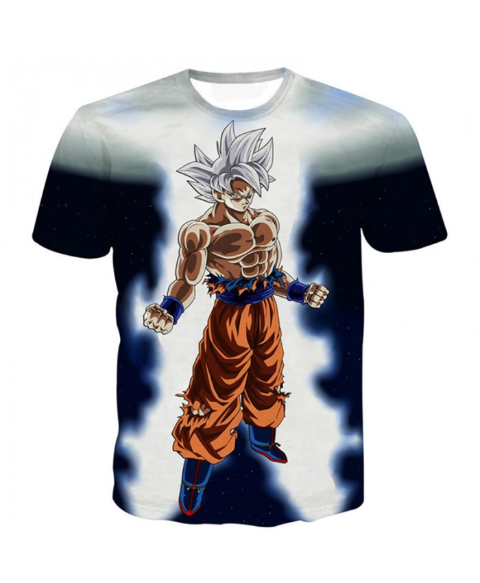 New Dragon Ball T Shirt Men Super Saiyan Ultra Instinct Goku Vegeta T-Shirt Camiseta Dragon Ball Z T Shirts Kids Summer Tees