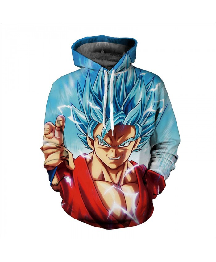 New Dragon Ball Z Vegetto Hoodies Men 3d Print Sweatshirt Moletom Anime Hoodie Pullovers Hooded Sweatshirts