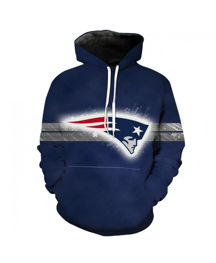 New England Patriots Hoodie Football Patriots Clothes Hooded Sweatshirt Autumn Men Women Casual Pullover Sportswear