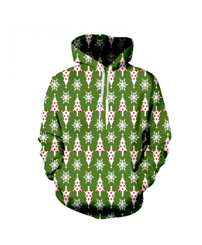 New Fashion Hooded Christmas Tree 3d Hoodies Men/Women Autumn Winter Tops Paint 3d Sweatshirts Unisex Pullovers