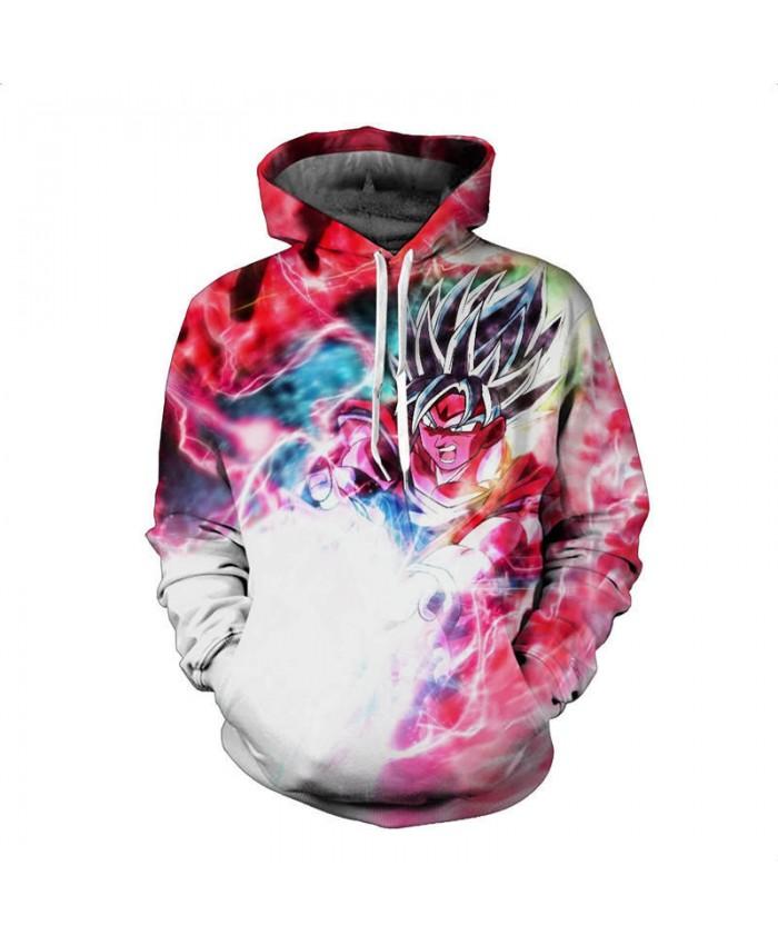 New Fashion Hooded Men Women Hoodies 3D Print Glowing attack GOKU Dragon ball Sweatshirt Harajuku Hoodie Tracksuits Hip Hop