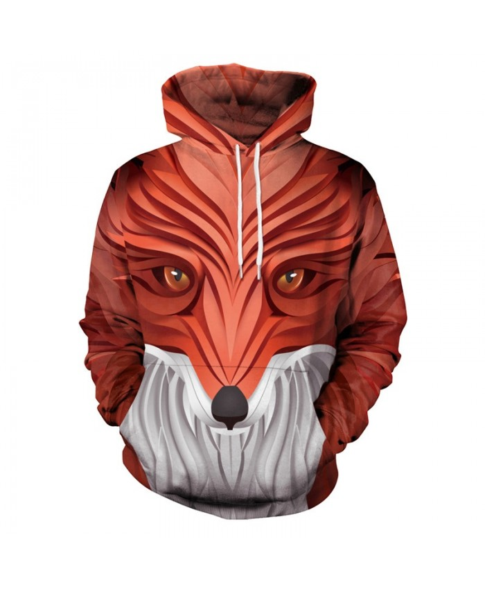New Fashion Wolf Hoodies Men/Women 3d Sweatshirts With Hat Hoodies Hand Painted Print Colorful Blocks Wolf Hooded Hoodies