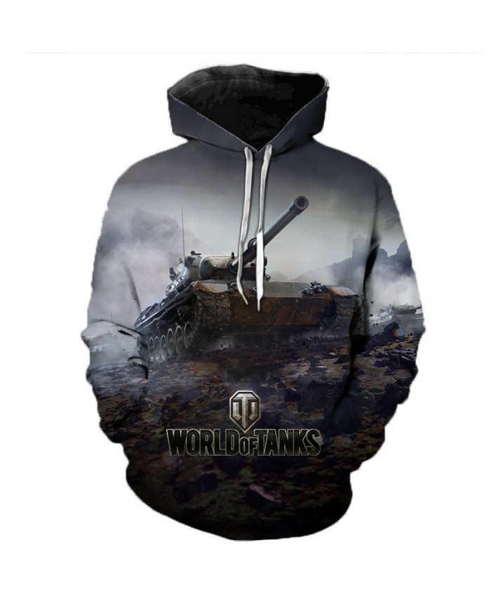New Games World of Tanks 3D Printed Hooded Sweatshirts Men Women Fashion Casual Pullover Hip Hop Streetwear Oversized Hoodies D