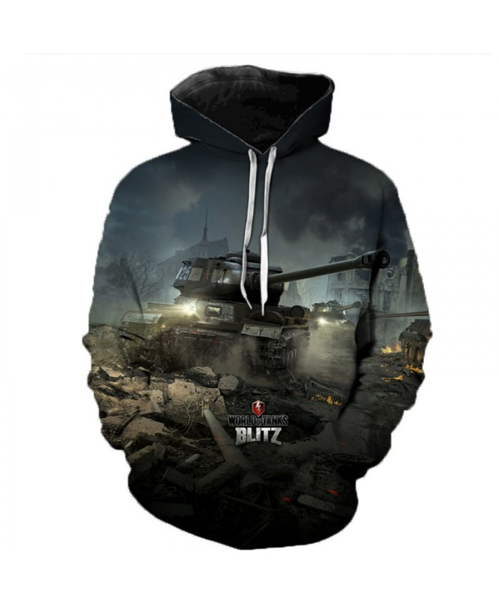 New Games World of Tanks 3D Printed Hooded Sweatshirts Men Women Fashion Casual Pullover Hip Hop Streetwear Oversized Hoodies E