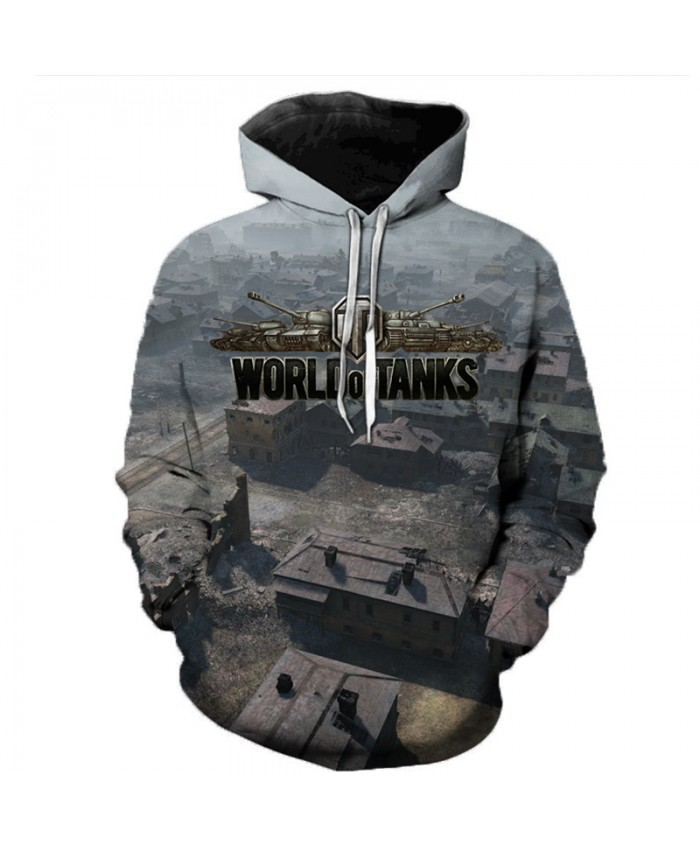 New Games World of Tanks 3D Printed Hooded Sweatshirts Men Women Fashion Casual Pullover Hip Hop Streetwear Oversized Hoodies G