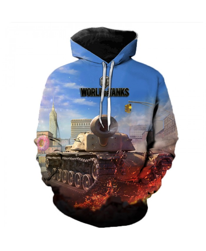 New Games World of Tanks 3D Printed Hooded Sweatshirts Men Women Fashion Casual Pullover Hip Hop Streetwear Oversized Hoodies H