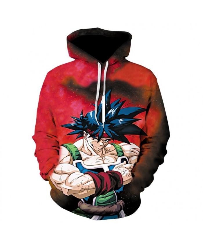 New Hoodies Dragon Ball Z Saiyan Goku fighting red Hoodies Pullovers Men Women Long Sleeve Outerwear New Hoodies