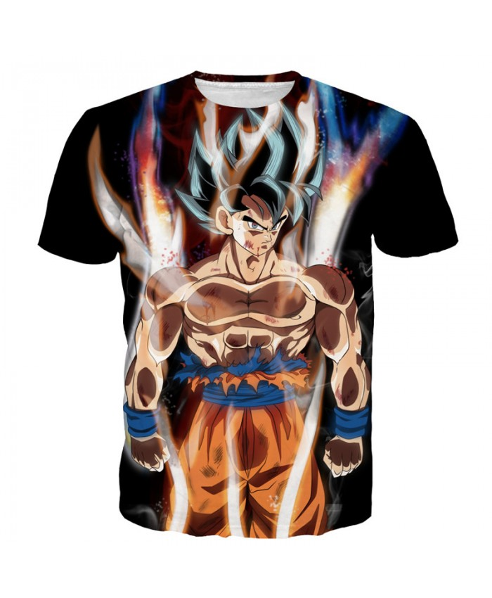 New Japanese 3D Vegeta Print Hot Anime T Shirt Men Dragon Ball T Shirt Funny T Shirts Cartoon Teenager Tops Tees Streetwear