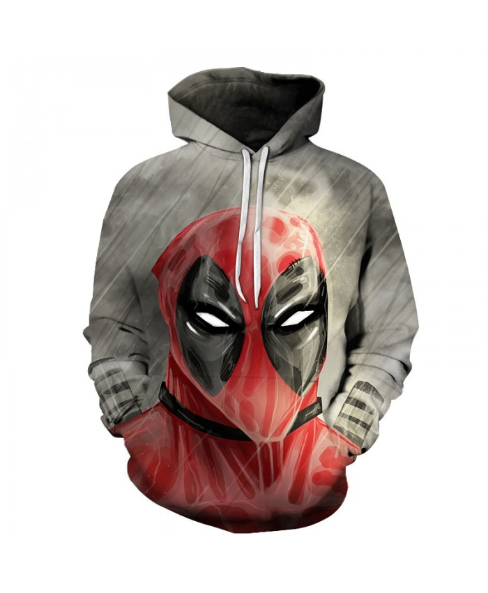 New Marvel 3D Anime Deadpool 2 Sweatshirt Hoodie Men/Women Fashion Casual Hoodies Men Funny Novelty Hip Hop Streetwear Jacket