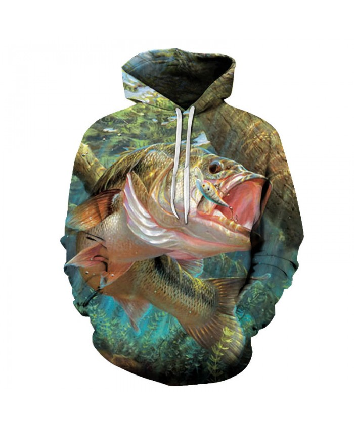 New Print Hoodies Men 3d funny fish women Anime MaleSweatshirts Pullover Tracksuits Drop Ship Summer