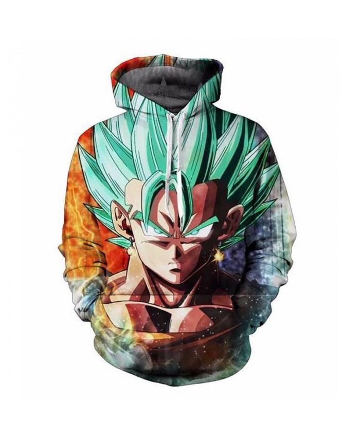 New Sale Dragon Ball manga Style 3d Sweatshirts Men/Women Pullovers Hoodies Pullovers5XL Men Hoodie