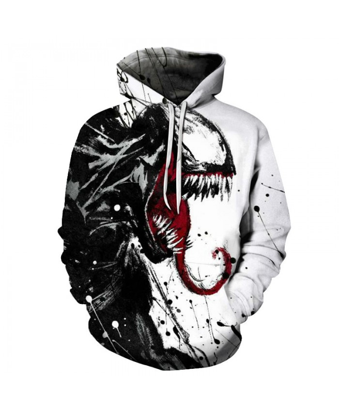New arrive popular Marvel movie venom 3D Printed Hoodies Men Women Hooded Sweatshirts hip hop Pullover Pocket Jackets