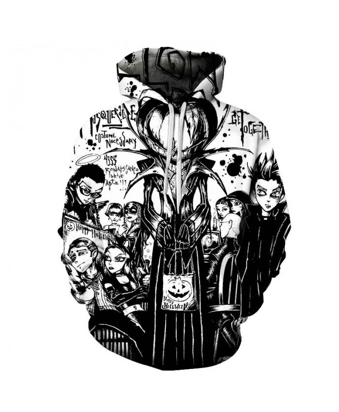 Nice Halloween 3D Print Hoodies Men Hoody Harajuku Hoodie Streatwear Sweatshirt Tracksuit Pullover Hip Hop Dropship