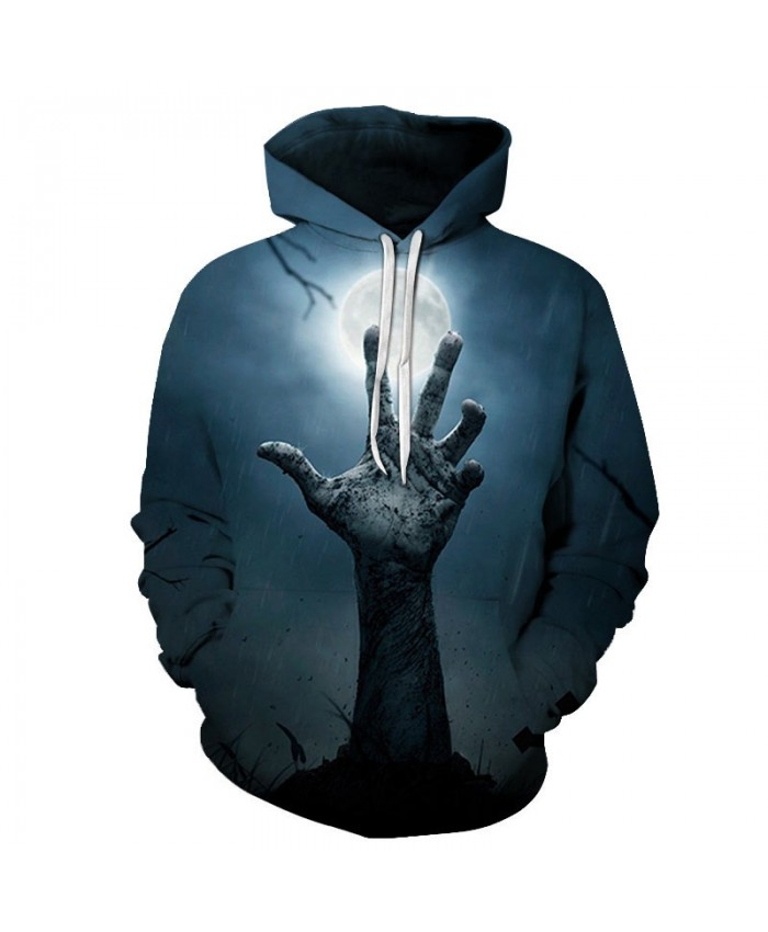 Night Falls 3D Printed Men Pullover Sweatshirt Clothing for Men Custom Pullover Hoodie Casual Streetwear Sweatshirt