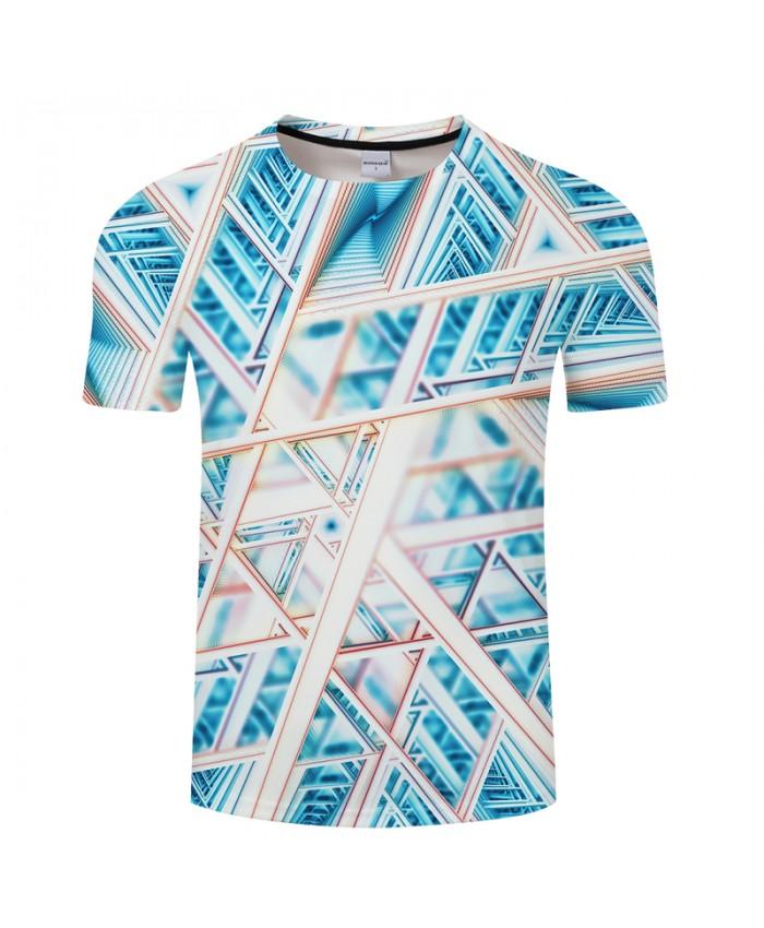 Novelty Geomery 3D Print t shirt Men Women tshirts Summer Casual Short Sleeve O-neck Tops&Tees Camisetas Drop Ship