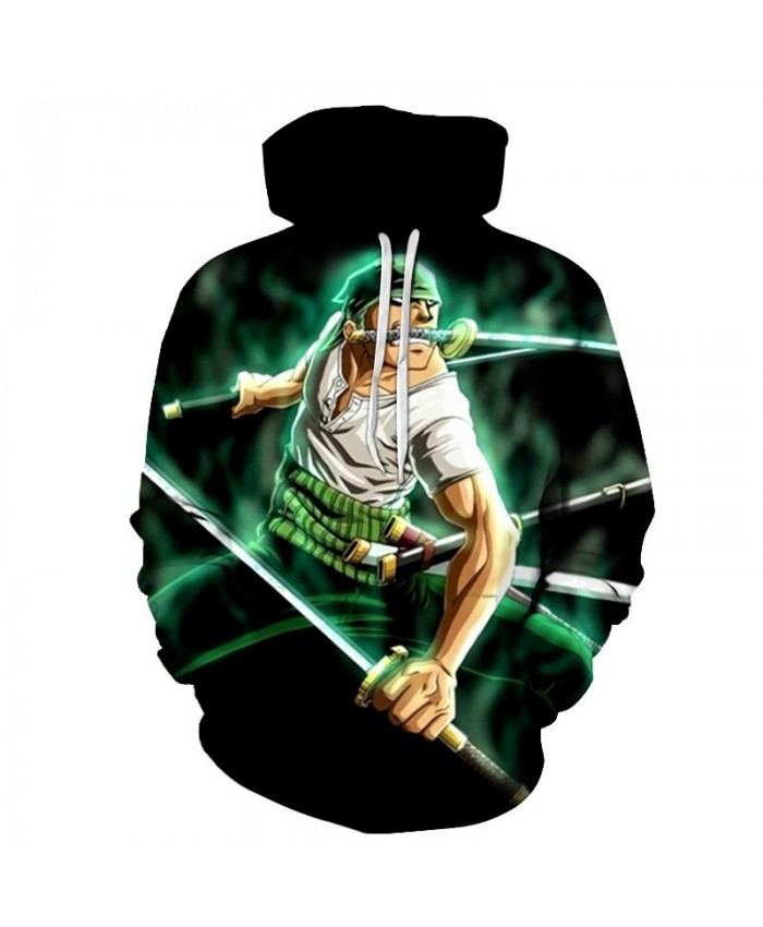 One Piece The Whole Body Is A Knife 3D Printed Men Pullover Sweatshirt Clothing for Men Custom Pullover Hoodie Tops