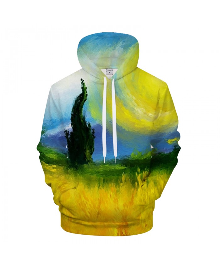 Painting 3D Print Hoodies Men Casual Hoody&Sweatshirt Groot Tracksuit Pullover HoodedCoat Supreme 2021 New DropShip