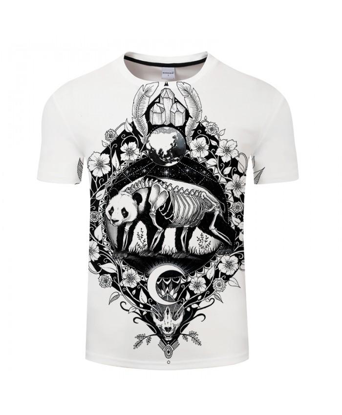 Panda By Pixie coldArt 3D Print T shirt Men Women Summer Short Sleeve Boy Tops&Tee Tshirts Camiseta Drop Ship