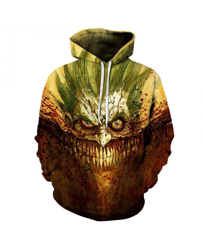Pointed Nose 3D Printed Pullover Sweatshirt Clothing for Mens Custom Pullover Hoodie Streetwear Sweatshirt Casual