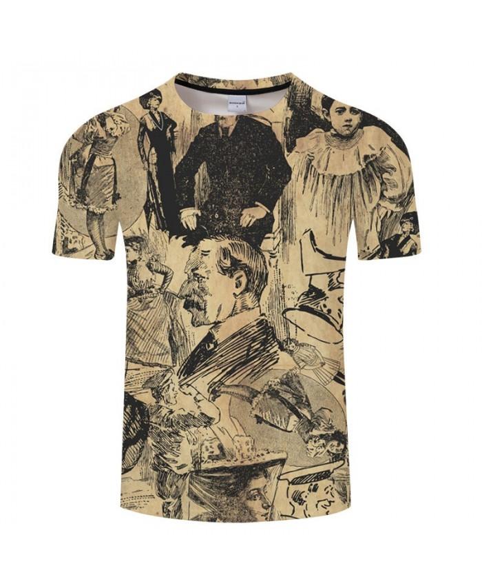 Popular Casual T shirt Print Unisex Tees Tops Harajuku Mens Tops Fashion Short Sleeve Streetwear t shirt Male Tee