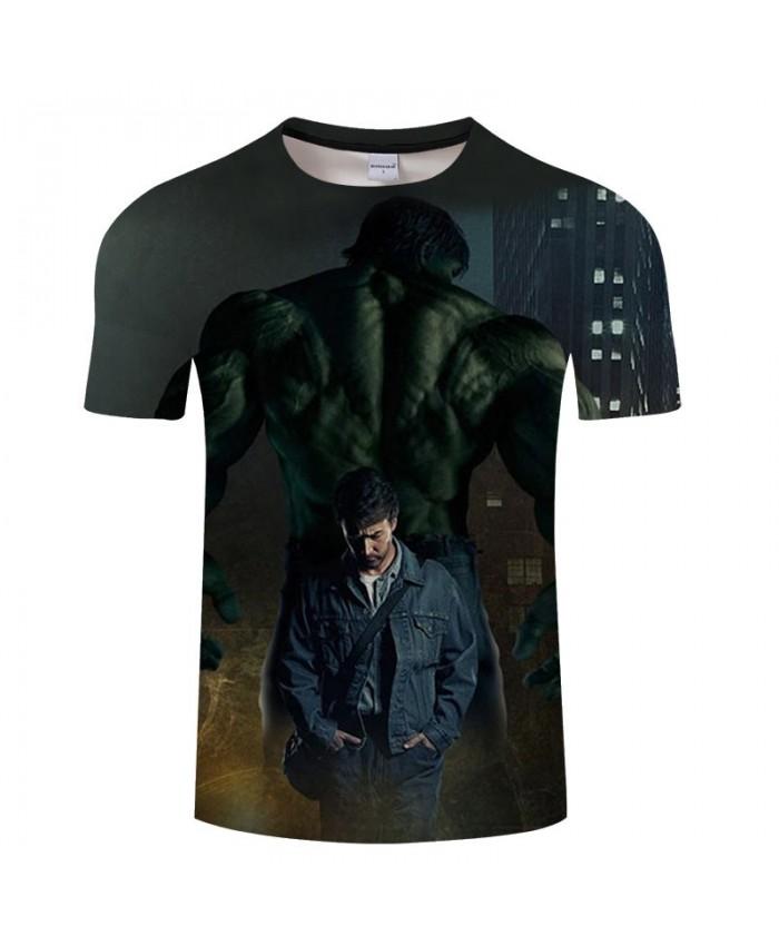 Print T Shirt Men 3D T Shirts tshirt Slim Casual Short Sleeve O-neck Crossfit Shirt Tops&Tees Drop Ship Marvel Men