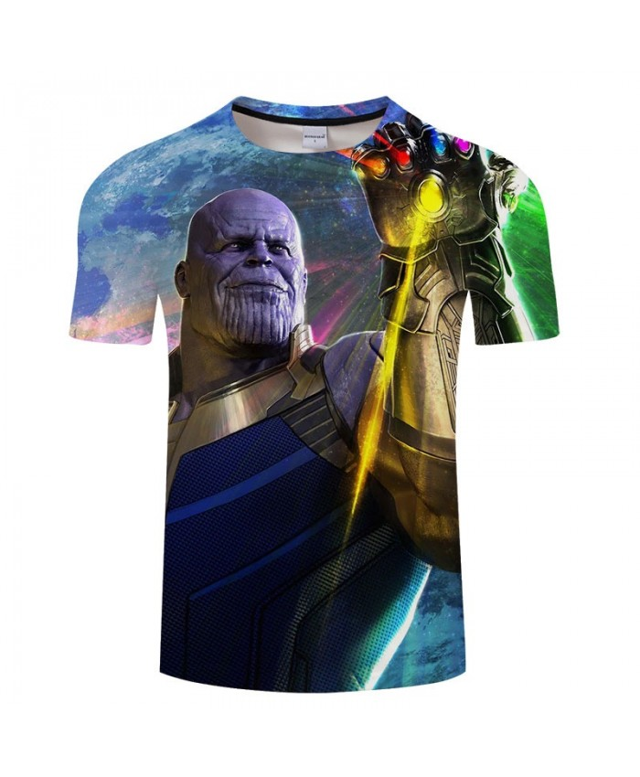 Print T Shirt Men Brand 3D T Shirts tshirt Marvel Casual Short Sleeve O-neck Crossfit Shirt Tops&Tees Men Fitness
