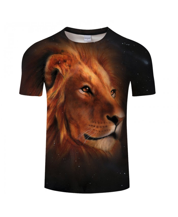 Print T-shirt Men Panther Drop ship Animal 3D Awesome t shirt Summer Casual Tops Tees Short Sleeve Male tshirt