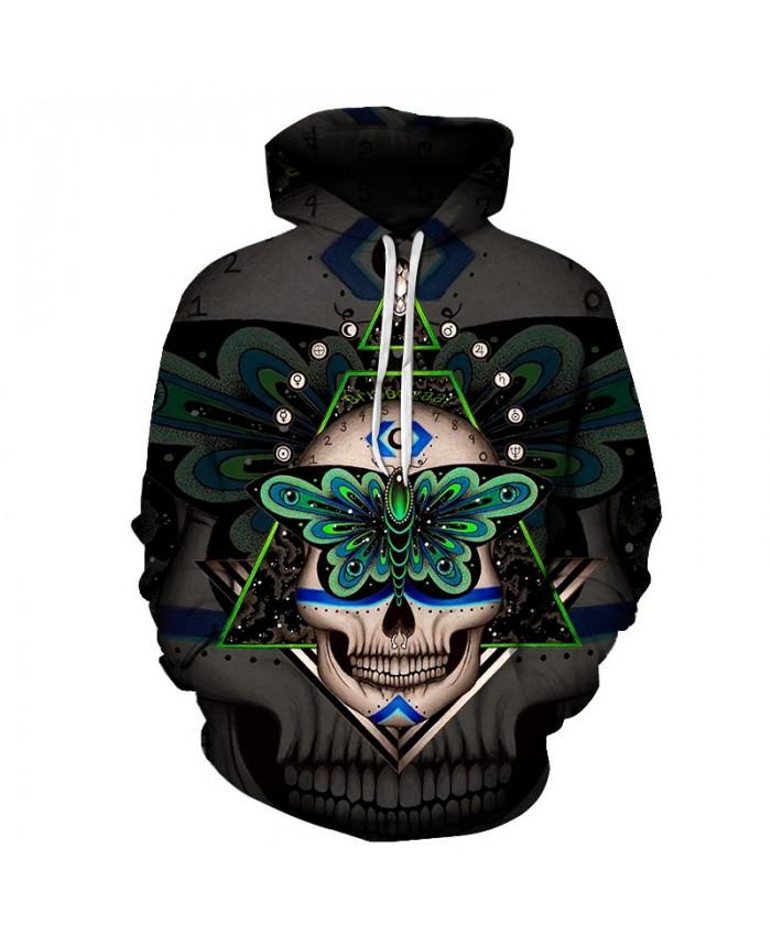 Prophecies By Brizbazaar Art Skull Hoodies Sweatshirts Men Tracksuit Funny Hoody Streetwear Coat 3d Pullover Autumn Hoodie 6XL