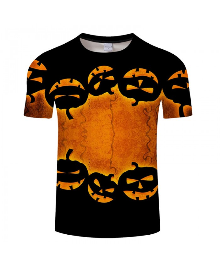 Pumpkin Festival 3D Print T shirts Men T-shirts Brand Top Tee Streetwear Summer Short Sleeve tshirt O-neck Drop Ship