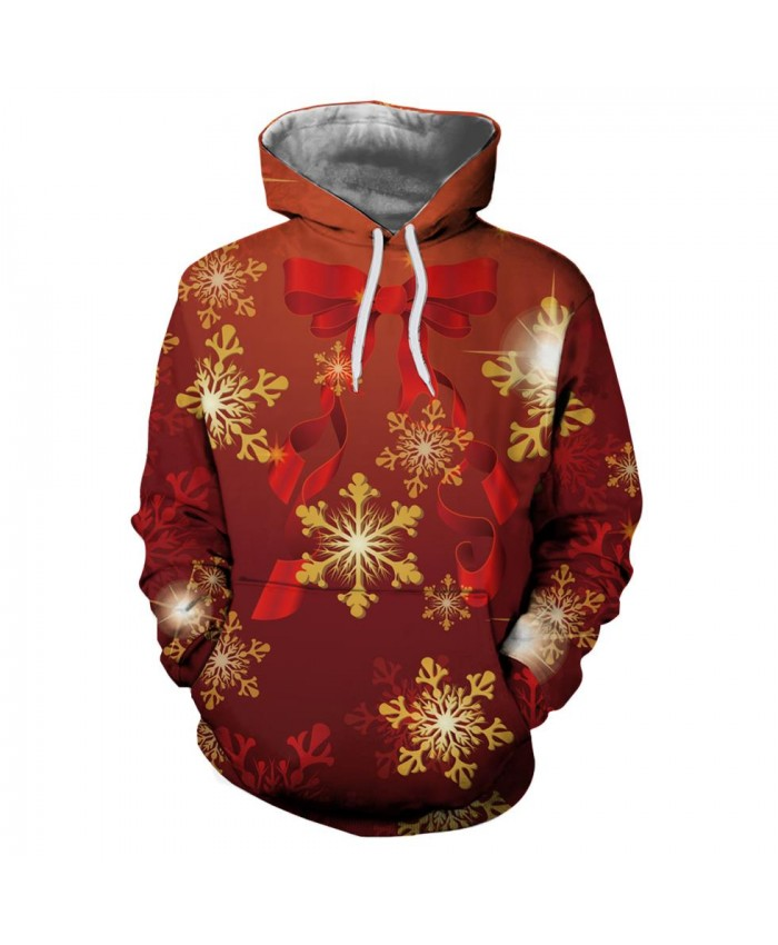 Red Dreamy Bow Tie Christmas Christmas Hoodies 3d Sweatshirts Men Women Hoodie Print Couple Tracksuit Hooded Hoody Clothing