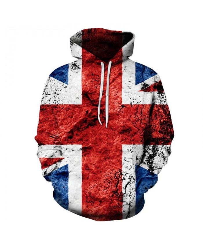 Rice Shape Men 3D Printed Pullover Sweatshirt USA Flag Hoodie Casual Hoodie Fashion Men Hoodie Fashion Casual Quality