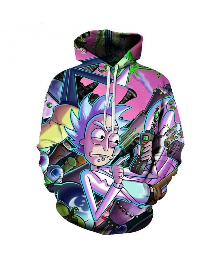 Rick And Morty 3D Hoodies Men Women Sweatshirts Anime Fashion Pullover Brand Drop Ship Tracksuits Casual Jackets