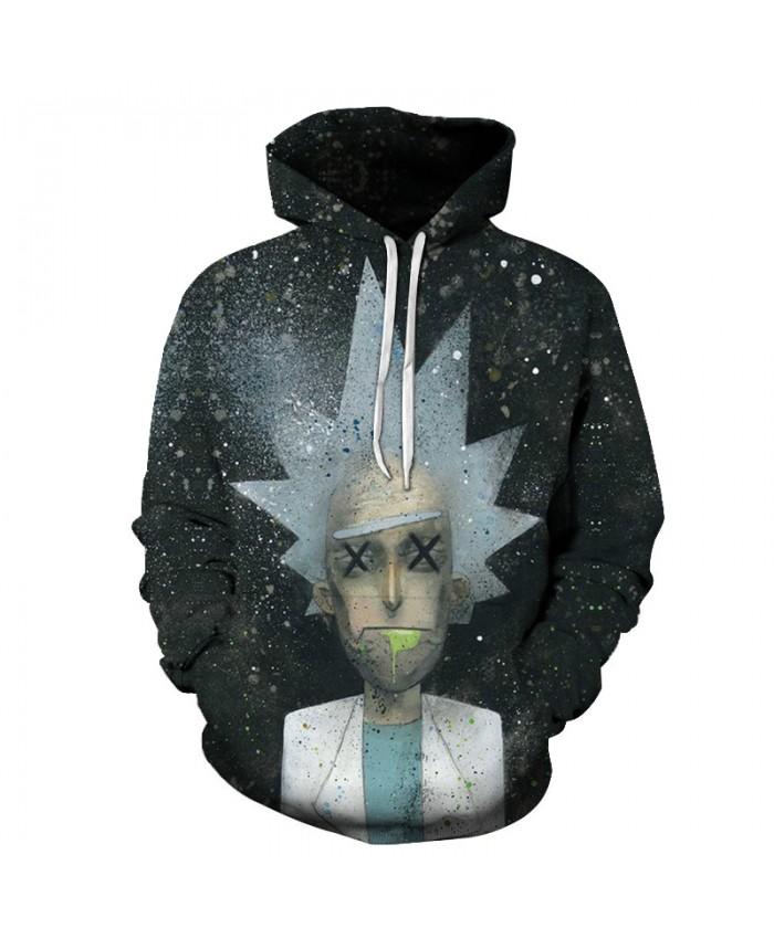 Rick And Morty Hoodies Sweatshirts 3d Men Hoodies Comic 3d Hoodie Casual Tracksuit Fashion Pullover Brand Streetwear Boy Coats