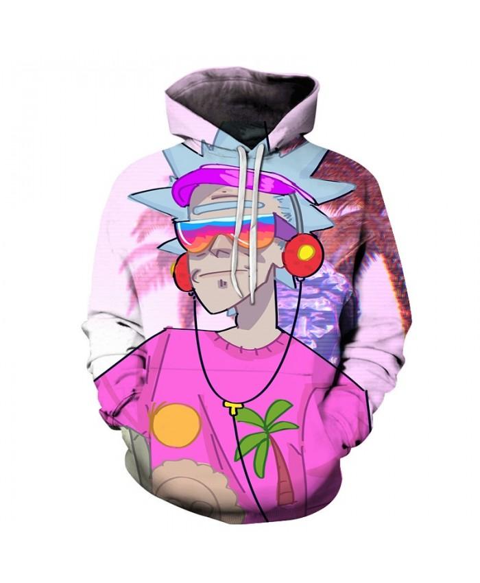 Rick Hoodies Men Women Sweatshirts 3d Hoodie Printed Pullover Streetwear Hoody Casual Tracksuits Male 2019 DropShip