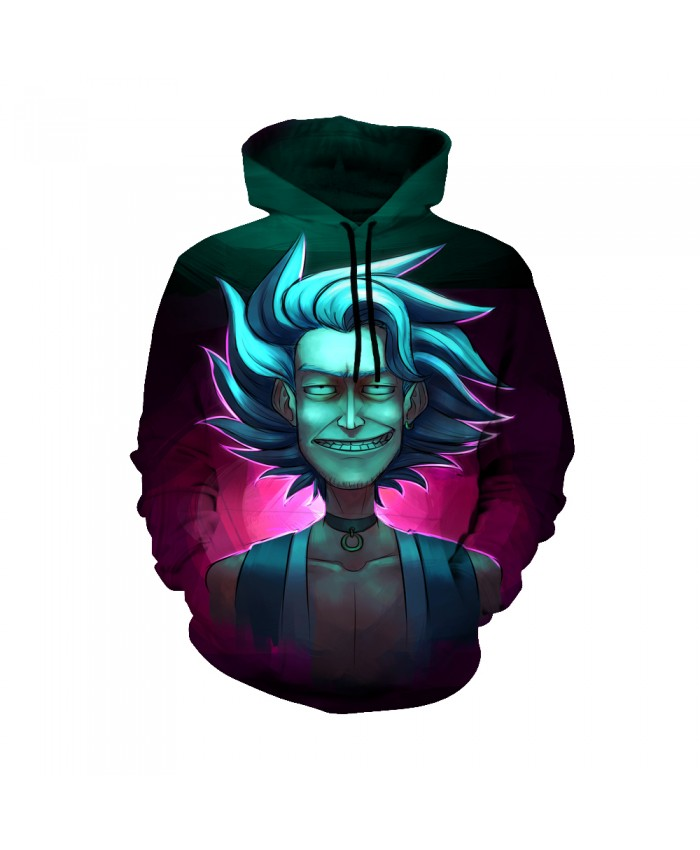 Rick and Morty Figure Hoodies Sweatshirt Men Women Autumn Hoodies Fashion Brand Rick and Morty Costume D
