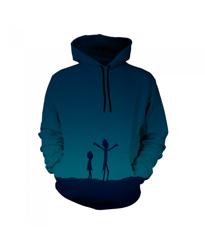 Rick and Morty Figure Hoodies Sweatshirt Men Women Autumn Hoodies Fashion Brand Rick and Morty Costume G