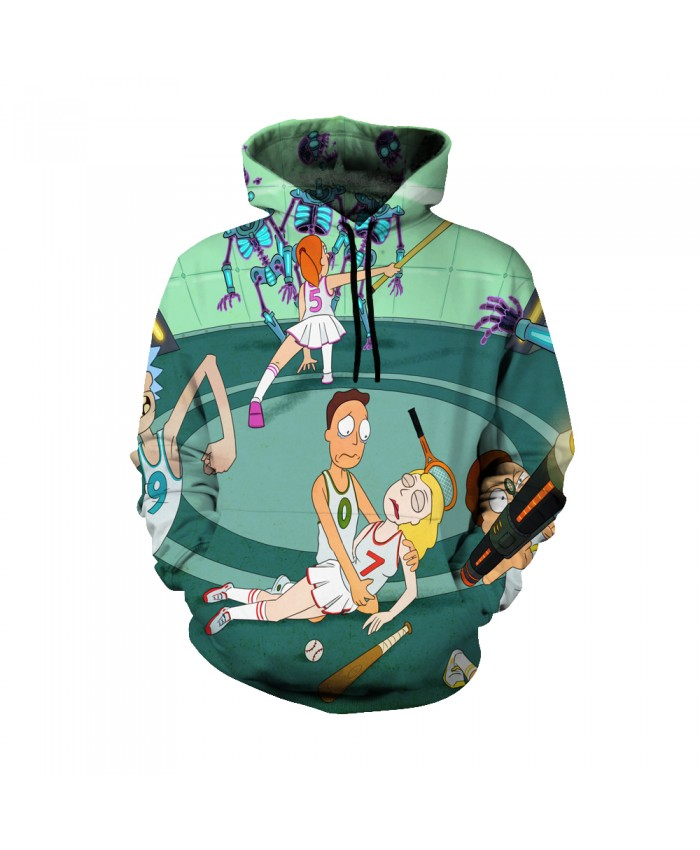 Rick and Morty Figure Hoodies Sweatshirt Men Women Autumn Hoodies Fashion Brand Rick and Morty Costume H