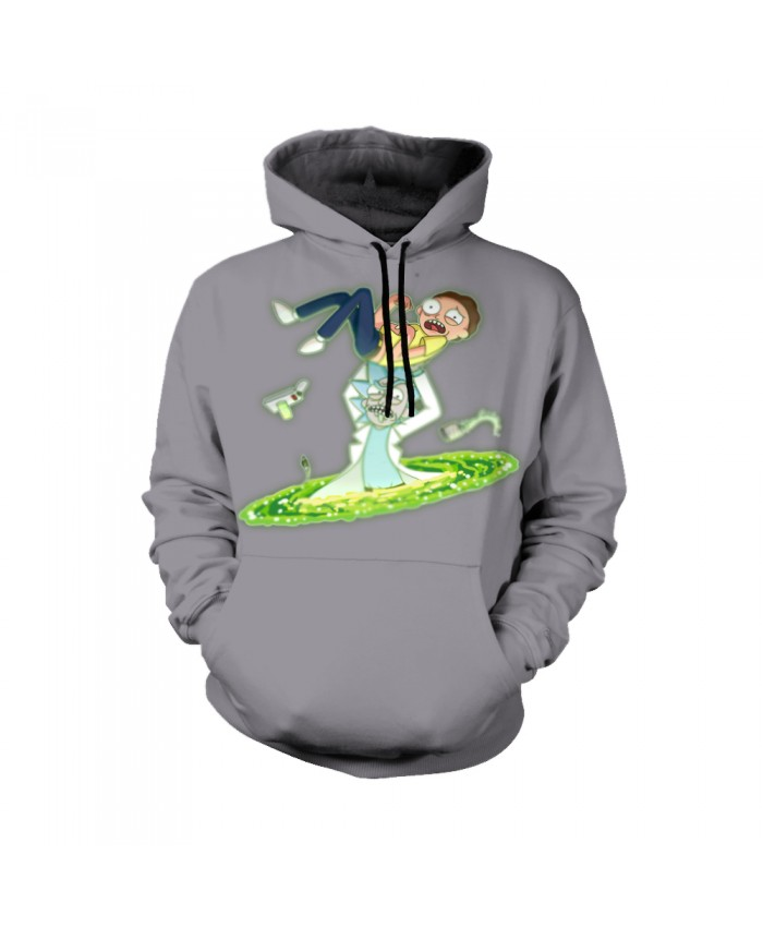 Rick and Morty Figure Hoodies Sweatshirt Men Women Autumn Hoodies Fashion Brand Rick and Morty Costume Q