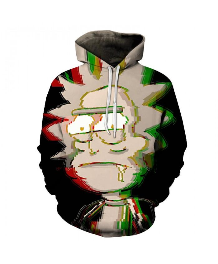 Rick and Morty Hoodies Hot Men Hoodies Unisex Sweatshirt Comics Funny 3D Hoodies Fashion Pullover Brand Tracksuit