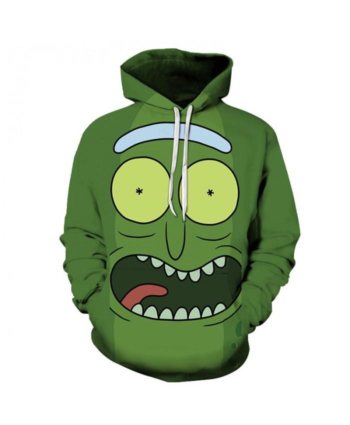 Rick and Morty Printed Hoodies Mens Sweatshirts 3D Hoodie Anime Pullover Male Hoody Streetwear Tracksuits Drop Ship
