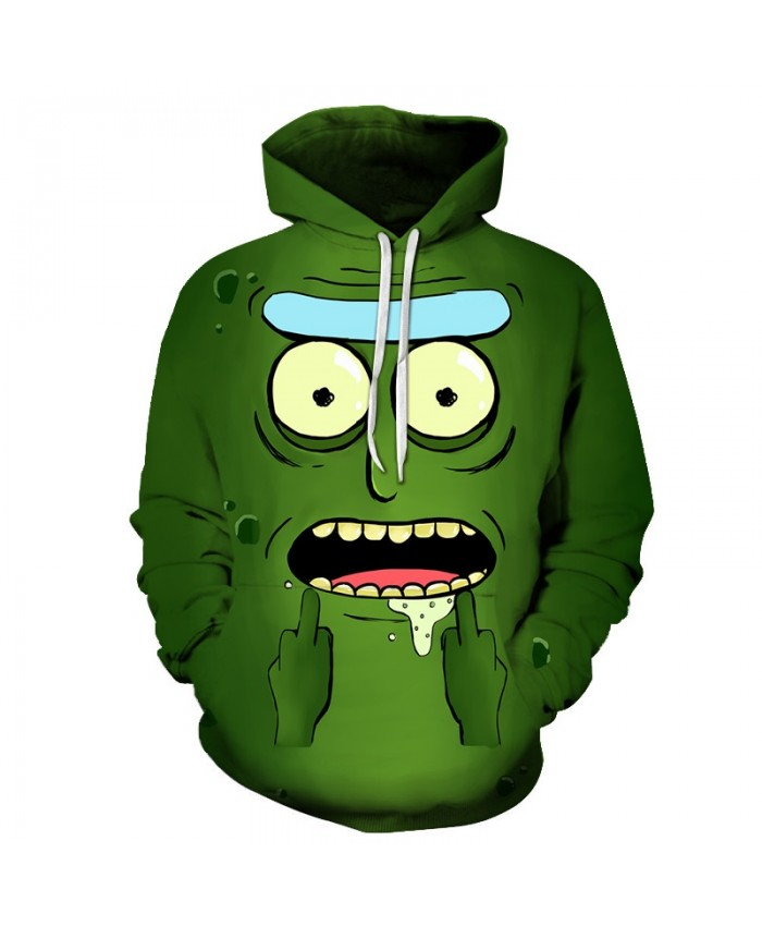 Rick and Morty Printed Hoodies Mens Sweatshirts 3D Hoodie Anime Pullover Male Hoody Streetwear Tracksuits Drop Ship A