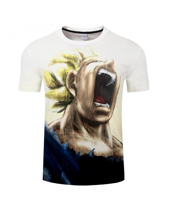 Roar Evil Spring Summer 3D Print T shirt Men Women Anime Streetwear Dragon Ball Boys Tops&Tees Tshirts Drop Ship