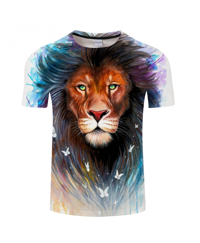 Sacred King by Pixie cold Art Tshirt Mens t shirts 3D Prints O-neck Short Sleeve Tees Tops Plus Size Drop Ship