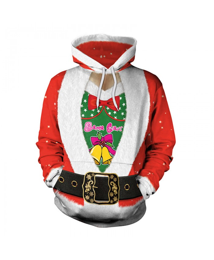 Santa's Gift Christmas Sweater Unisex Men Women Vacation Santa Elf Pullover Funny Sweaters Tops Autumn Winter Clothing