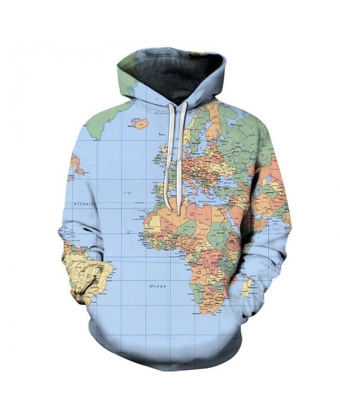 Seven Oceans 3D Print Men Pullover Sweatshirt Pullover Hoodie Casual Fashion Hoodies Men Streetwear Sweatshirt Hoodie